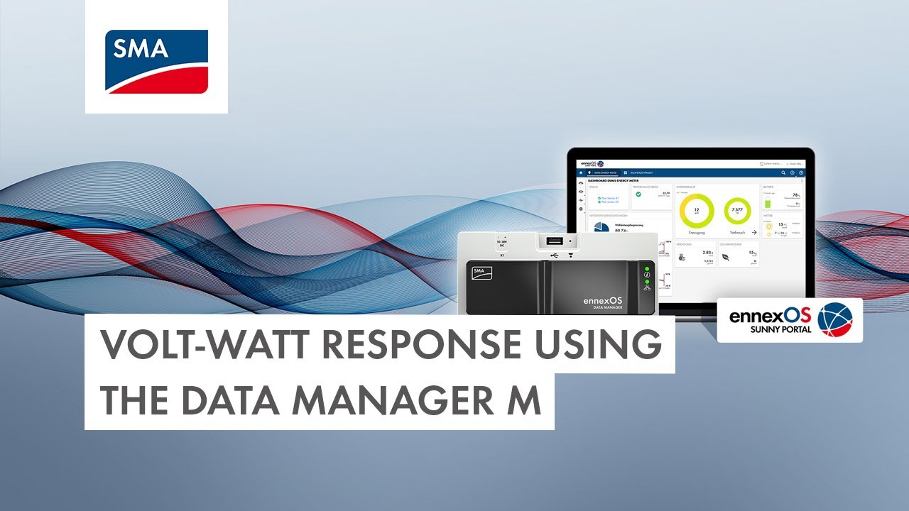 Download Tech Tip: Configuring a Volt-Watt response using the Data Manager M