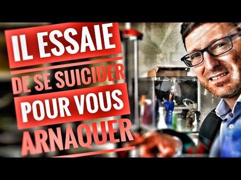 IL TENTE DE SE SUICIDER POUR VOUS ARNAQUER ?