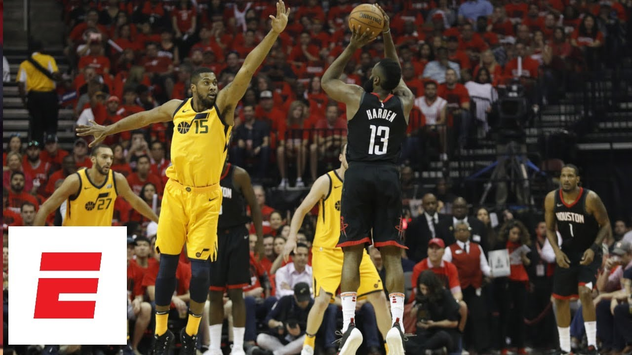 James Harden powers the Rockets to Game 1 victory over Utah Jazz | ESPN