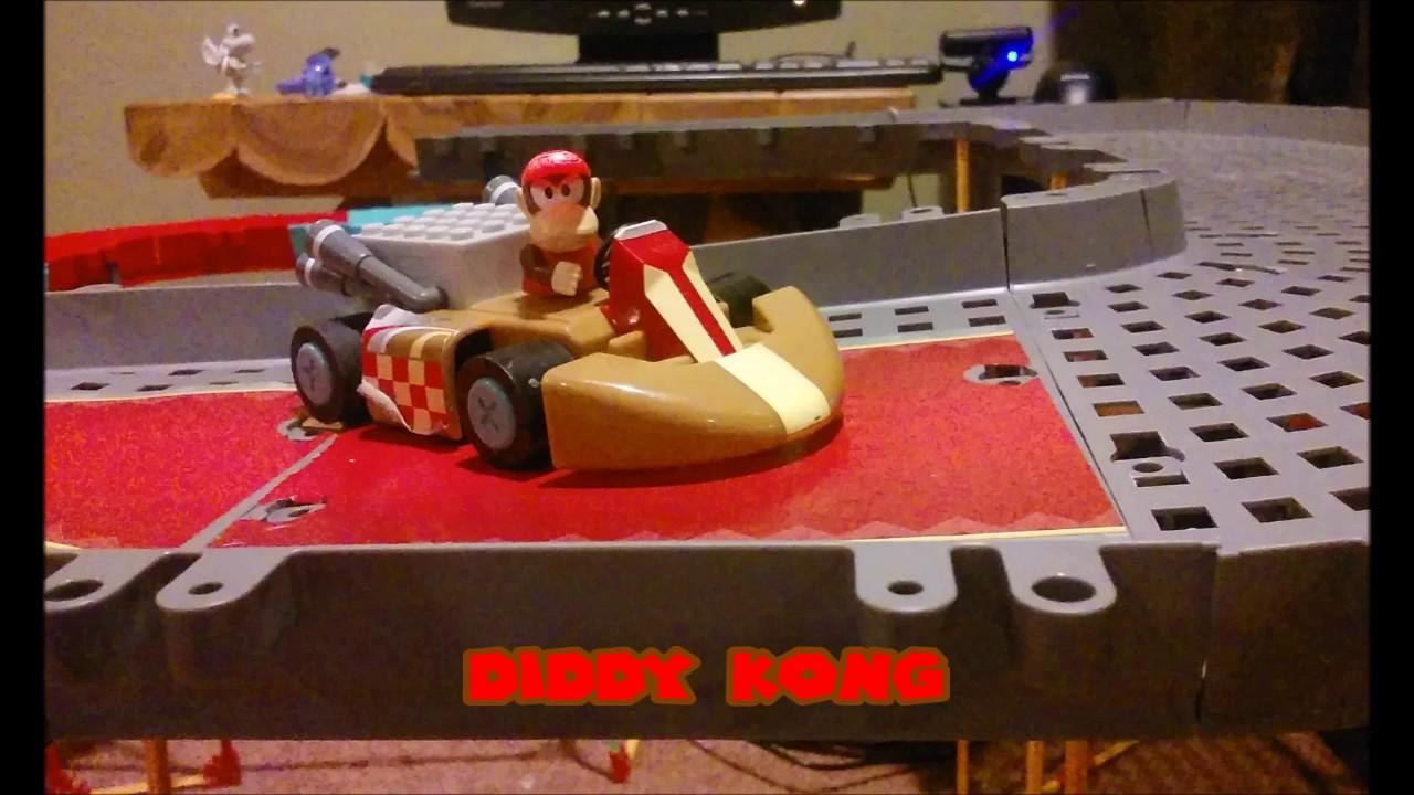 K Nex Mario Kart Ds Waluigi Pinball
