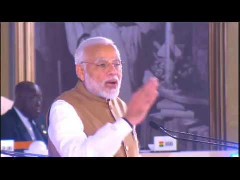 PM Shri Narendra Modi at the Founding Conference of the International Solar Alliance