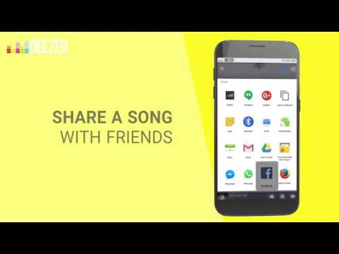 How to share songs with friends