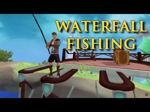 Runescape: Waterfall Fishing Guide & Rewards - Fastest AFK Method!