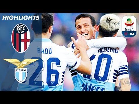Bologna 0-2 Lazio  | Lazio Go 4th With Impressive Win | Serie A