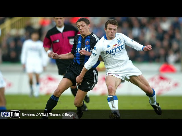 2002-2003 - Jupiler Pro League - 11. Club Brugge - Racing Genk 4-0