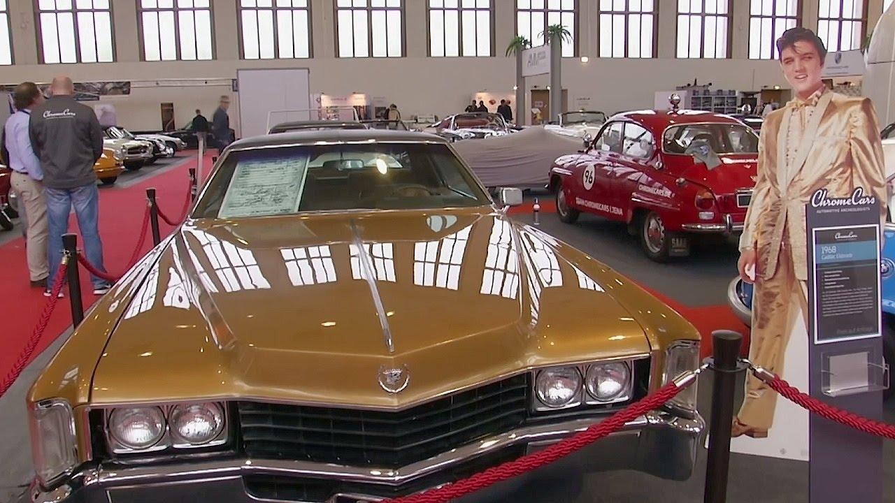 Ретро-выставка: зачем Элвис Пресли прострелил своё авто? (новости)