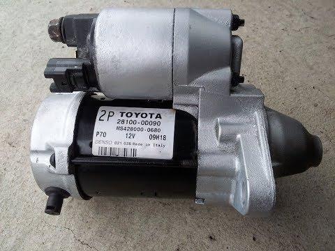 Ремонт стартера Toyota