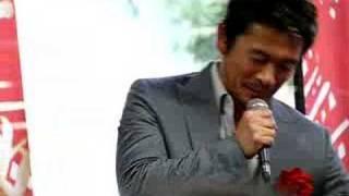 甲府市で行われた風林火山博のオープンセレモニー。山本勘助役の内野聖...