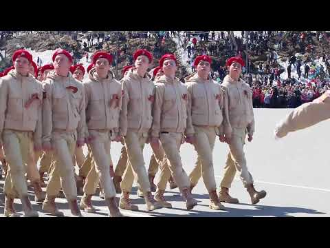 Парад Победы на Камчатке