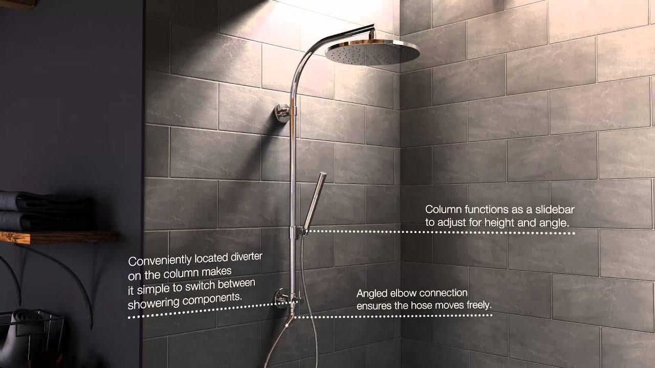 HydroRail Shower Column