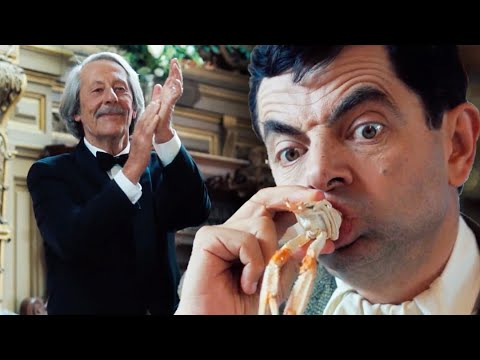 SEAFOOD Bean �� | Mr Bean's Holiday | Funny Clips | Mr Bean Official