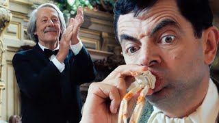 SEAFOOD Bean 🦐 | Mr Bean's Holiday | Funny Clips | Mr Bean Official