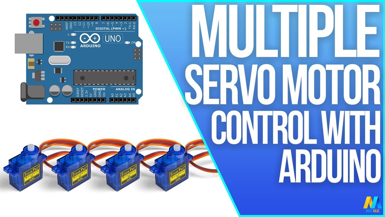 Multiple Servo Control with Arduino Uno R3 | Arduino Tutorial - YouTube