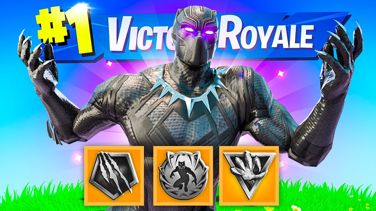 The BLACK PANTHER MYTHIC BOSS Challenge in Fortnite