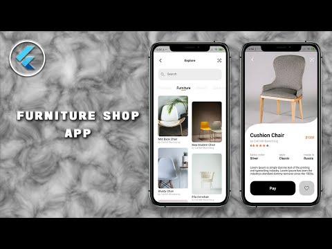 Furniture Shop App - Speed Code - Flutter UI - Staggered Dual View - Custom Clipper