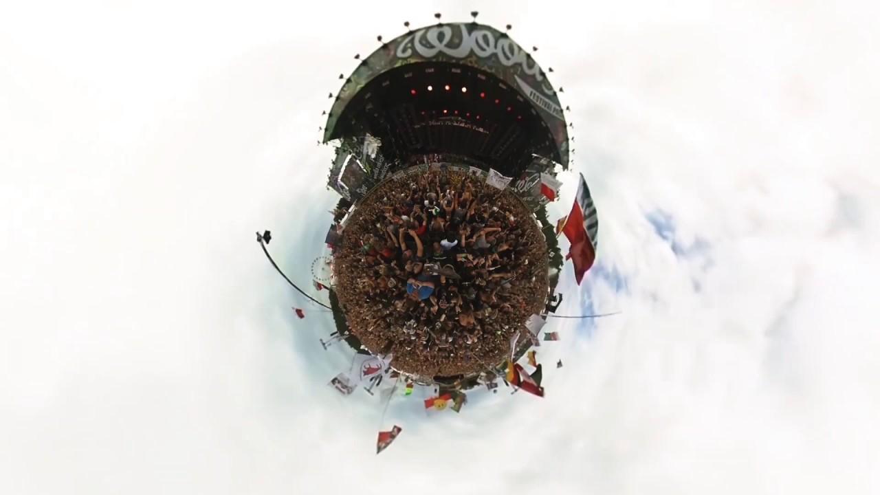 Planeta Woodstock – ROZPOCZĘCIE! – Ricoh Theta