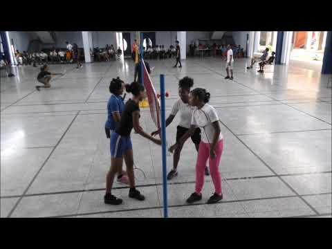 Secondary Schools Badminton Semifnals South Eastern District 10,01,2019