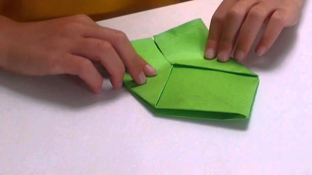 St Patrick S Day Pot Of Gold Made By Origami Youtube