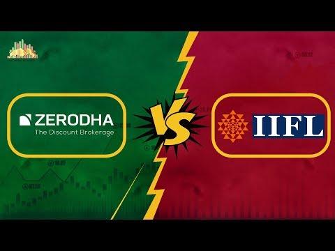 Zerodha Vs IIFL (India Infoline) - Detailed Comparison