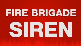 Fire Brigade Siren SOUND EFFECT - Feuerwehr Sirene SOUNDS