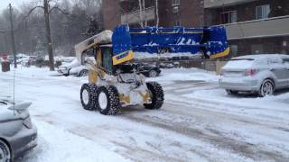 Owen Sound Snow Plowing by Hutten & Co.