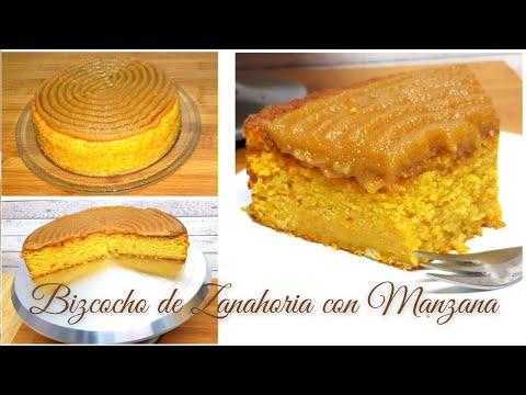 Bizcocho de Zanahoria y Manzana Caramelizada | Carrot Cake #71