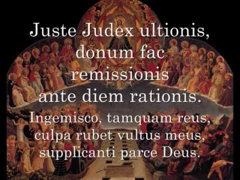 Dies Irae- Monks of the Abbey of Notre Dame.
