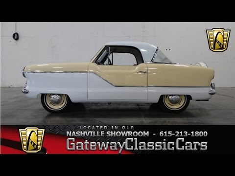 1962 Nash Metropolitan - Gateway Classic Cars of Nashville #53