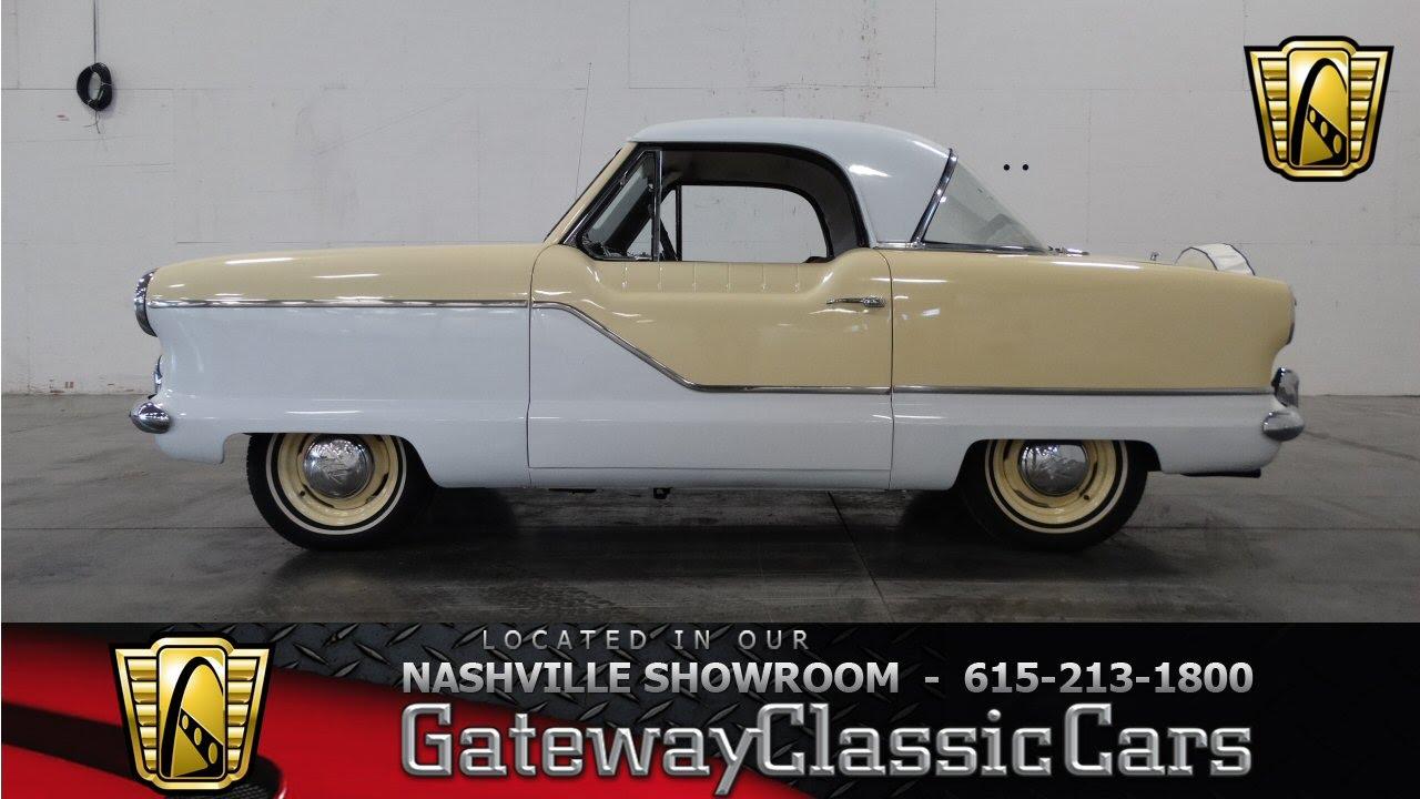 1962 nash metropolitan gateway classic cars of nashville 53 youtube Used Nash Metropolitan