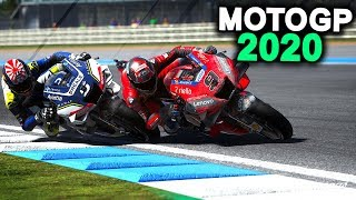 MOTOGP 2020 GAME MOD UPDATES GAMEPLAY! | Ducati at MotoGP Thailand 2020