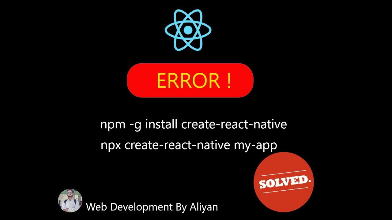 react npm npx error package.json file