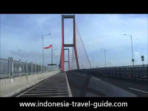 Suramadu Bridge - Madura Island - Surabaya City - East Java - Indonesia