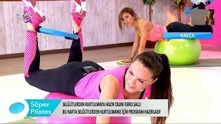 Ebru Şallı Ve  Meltem  Süper Pilates 12 Mart 2016