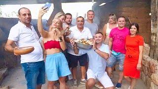 Мастер класс по приготовлению вкусного шашлыка.Тур по Армении