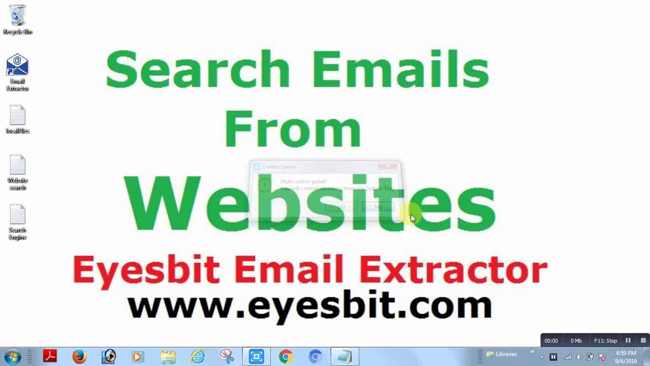 How to Extract Emails from Websites| Email Extractor Full Version