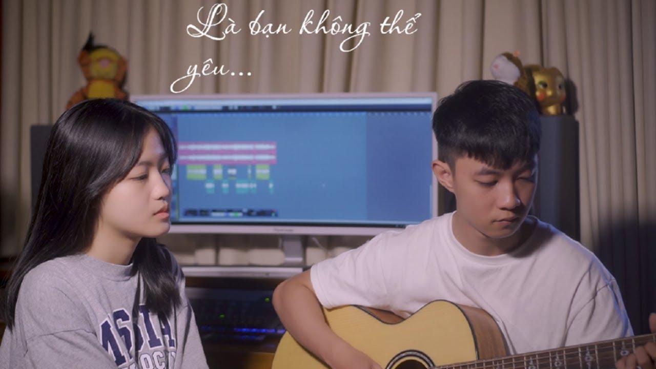 Là Bạn Không Thể Yêu (Lou Hoàng) | Guitar Cover | Huyền Trang ft. Quốc Phan