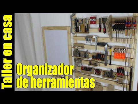 Organizador de herramientas / Panel / Tablero / Estanteria - Organizar el taller
