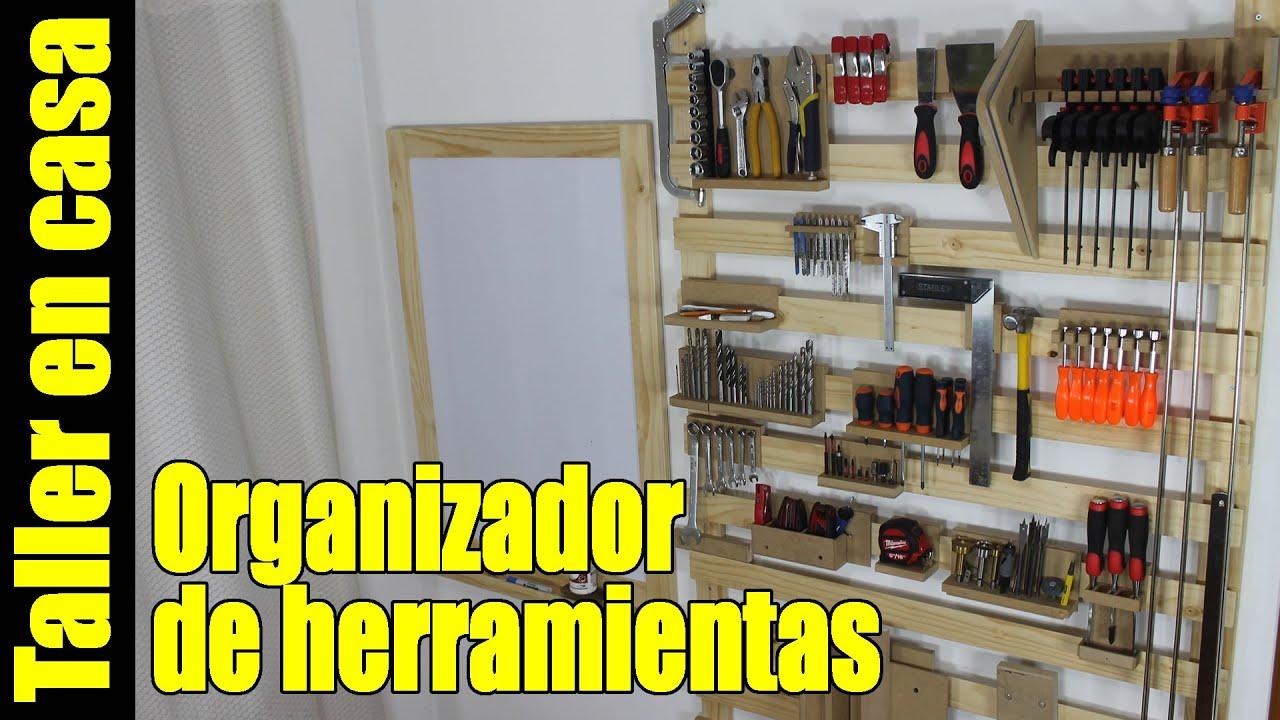 Organizador de herramientas panel tablero estanteria for Casas de madera para guardar herramientas