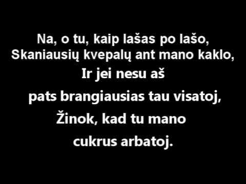 Žygis - Cukrus arbatoj. (Lyrics)