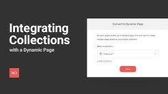 Dynamic Pages – Integrating Collections with a Dynamic Page
