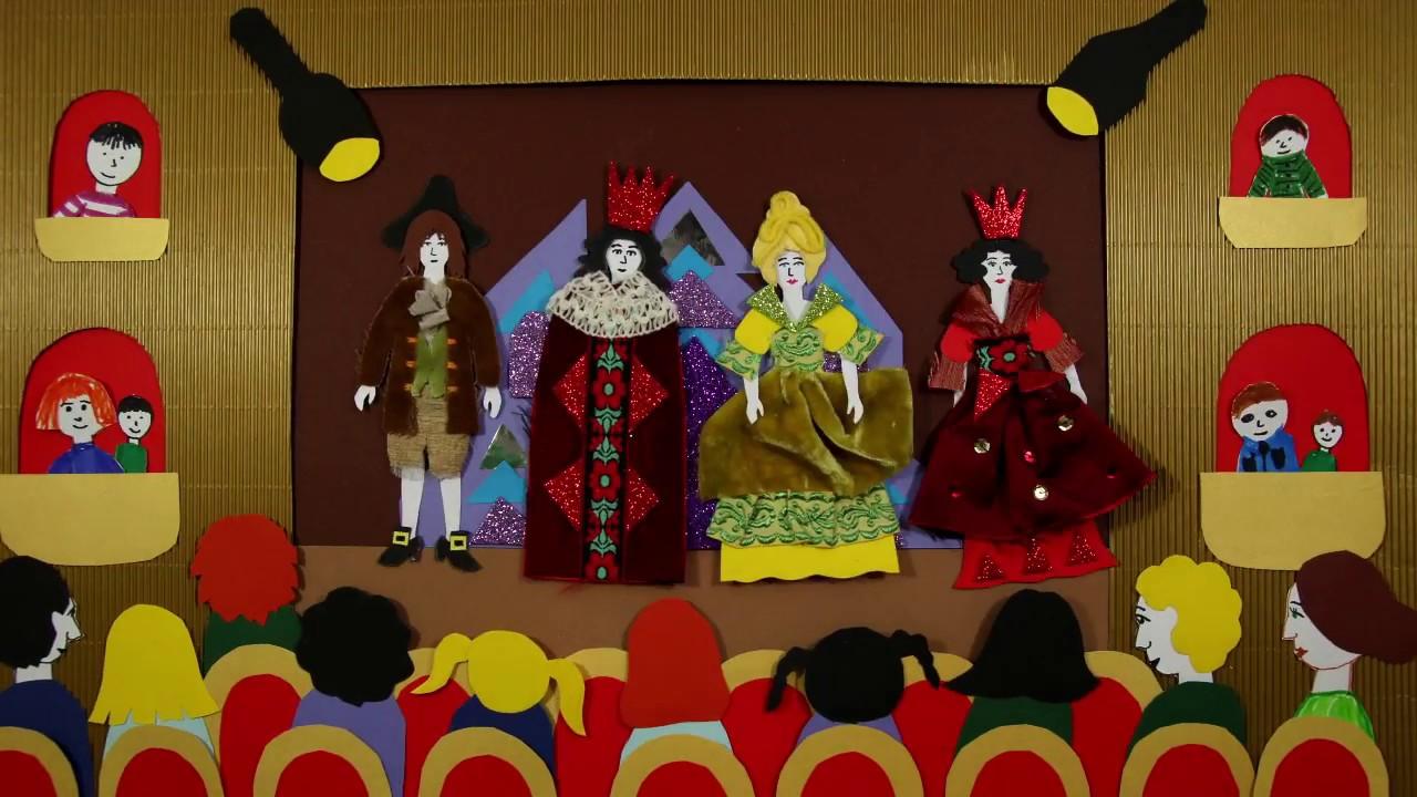 Jak powstaje spektakl teatralny? - YouTube