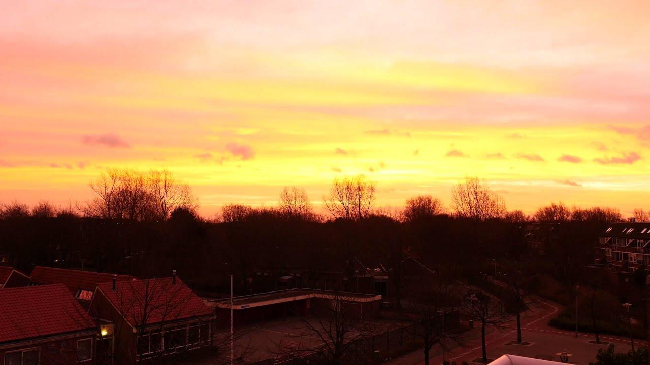 Sunset in 4K