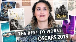BEST TO WORST! RANKING all the Best Picture Oscar Movies 2019