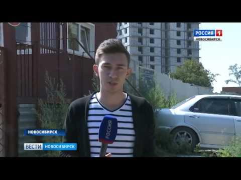 В Новосибирске строители залезли на кран с требованием выплатить зарплаты