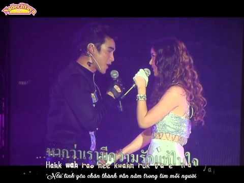 179. [Vietsub + Kara] Proong Nee Mai Sai - Chun Ruk Tur - Nadech Yaya GM5 concert