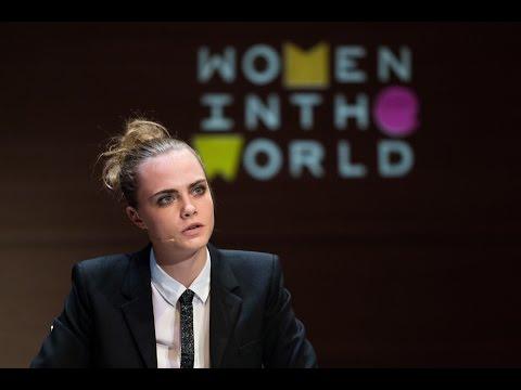 Cara Delevingne | Women In The World Summit 2015