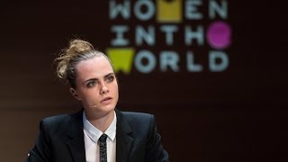 Video Cara Delevingne | Women In The World Summit 2015 download MP3, 3GP, MP4, WEBM, AVI, FLV November 2017