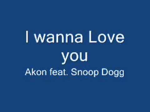 Akon snoop dogg i wanna love you lyrics