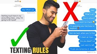 12 Texting Rules Every Guy Should Know
