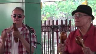 """""""Maria Cervante"""" New Swing Sextet  Salsa  @ La Marqueta, video por Jose Rivera 9:10:15"""